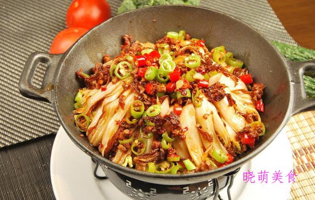 红焖肉块、家常肥肠、红油肥牛金针菇、湘味娃娃菜的家常做法