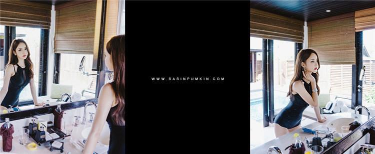 韩国顶级名模孙允珠写真套图:雪霏网格羽翼轻飘绕胸比基尼&烟熏丝薄美杜莎诱惑紧身泳衣