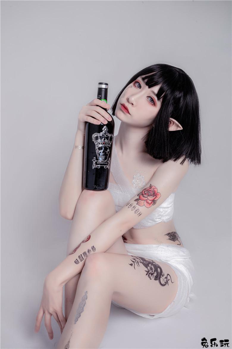 cosplay绑带和武士@阮邑_Fairy(34P)