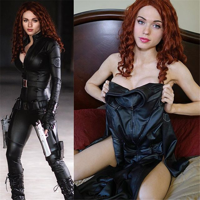 Twitch人气最高的女神主播,美国自由模特coser Amouranth颜值身材美貌性格都是上上之选!