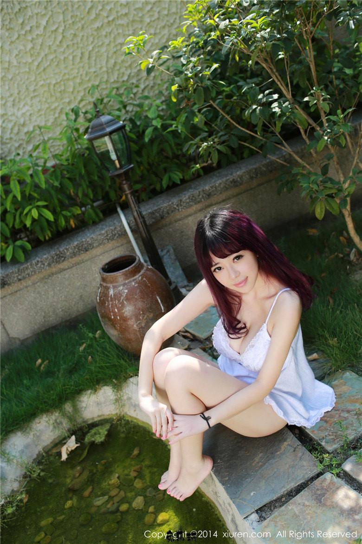 性感嫩模刘飞儿Faye早期写真作品,厦门鼓浪屿旅拍