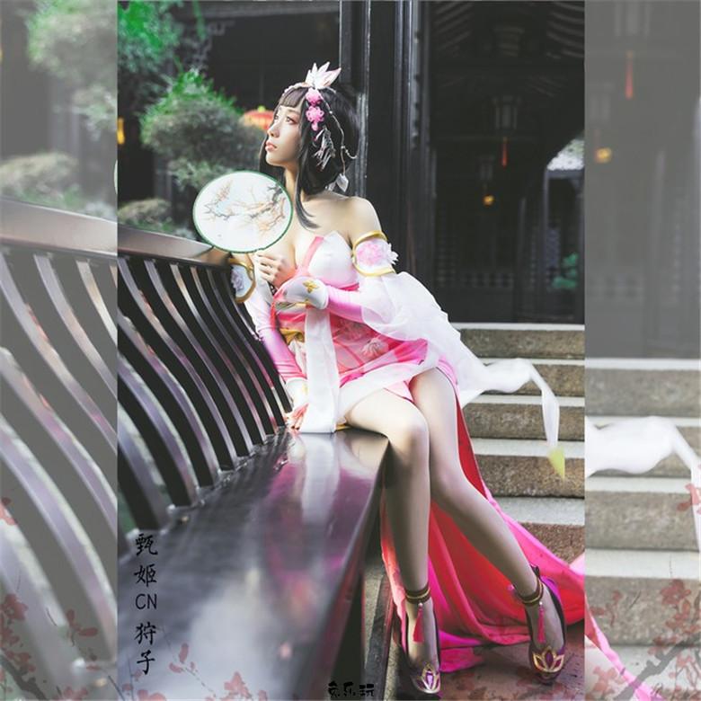 HENTAI狩子cosplay丨王者荣耀·游园惊梦·甄姬