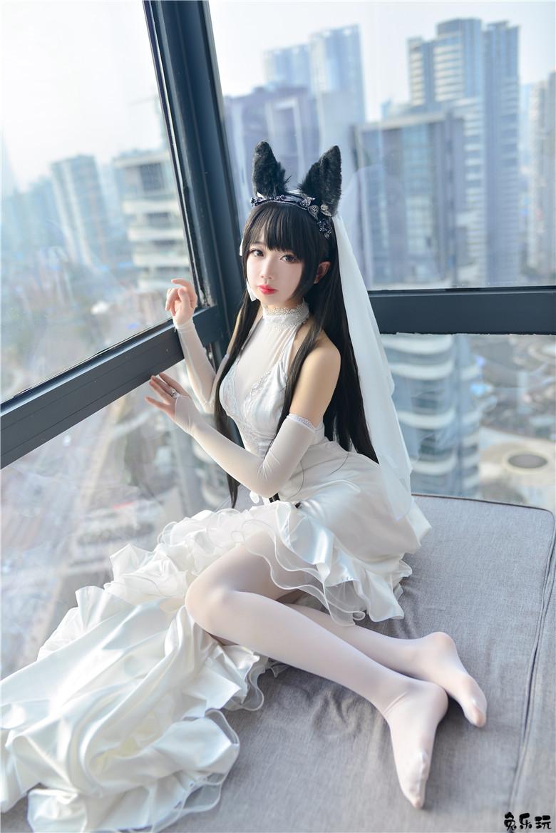 [Cosplay]雪琪SAMA作品合集精选丨爱宕婚纱