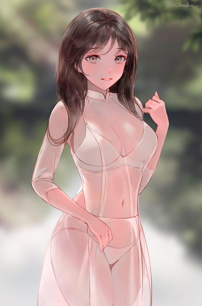 这透明蕾丝是不是有点过于性感了