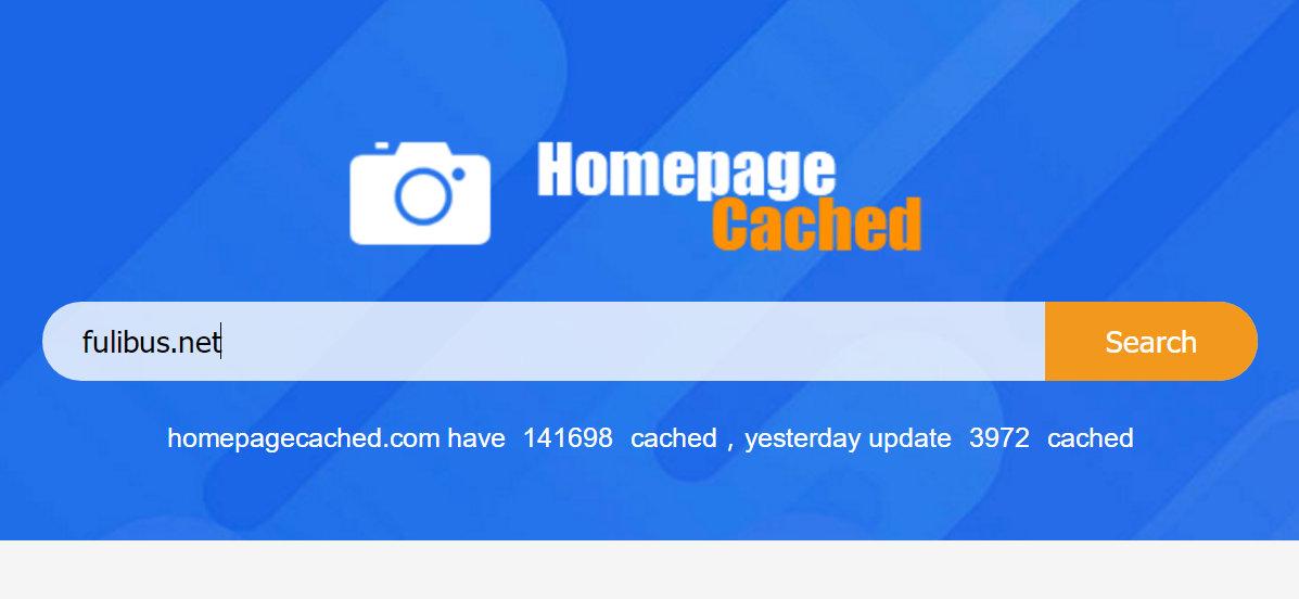 网站主页缓存车,Homepagecached