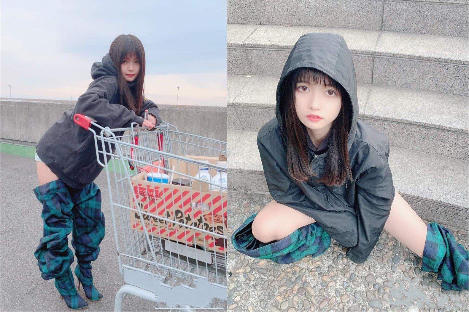"""夏目彩春去逛超市居然""""脱了一半裤子"""",一大批肥宅大感兴奋"""