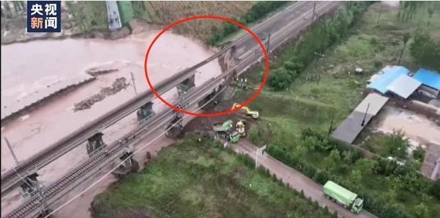 山西昌源河大桥桥台被冲垮(山西暴雨致多地景点关闭)