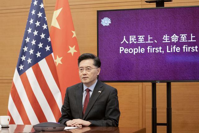 秦刚向美国人介绍中国热词