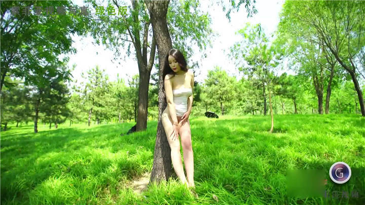 秀人果哥视频-索菲亚 女神小树林写真视频[2V/342MB]