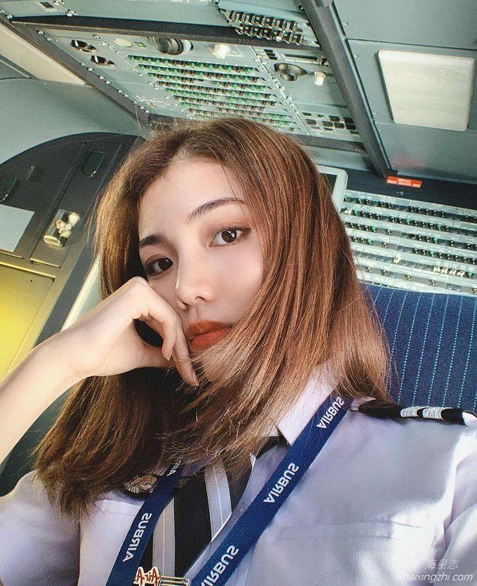 Astro国际华裔小姐的8强佳丽,大马超正女飞机师Cecilia方歆儿_10