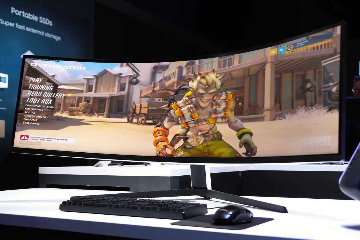 三星曲面屏显示器Odyssey G7和G9游戏显示器即将接受预订