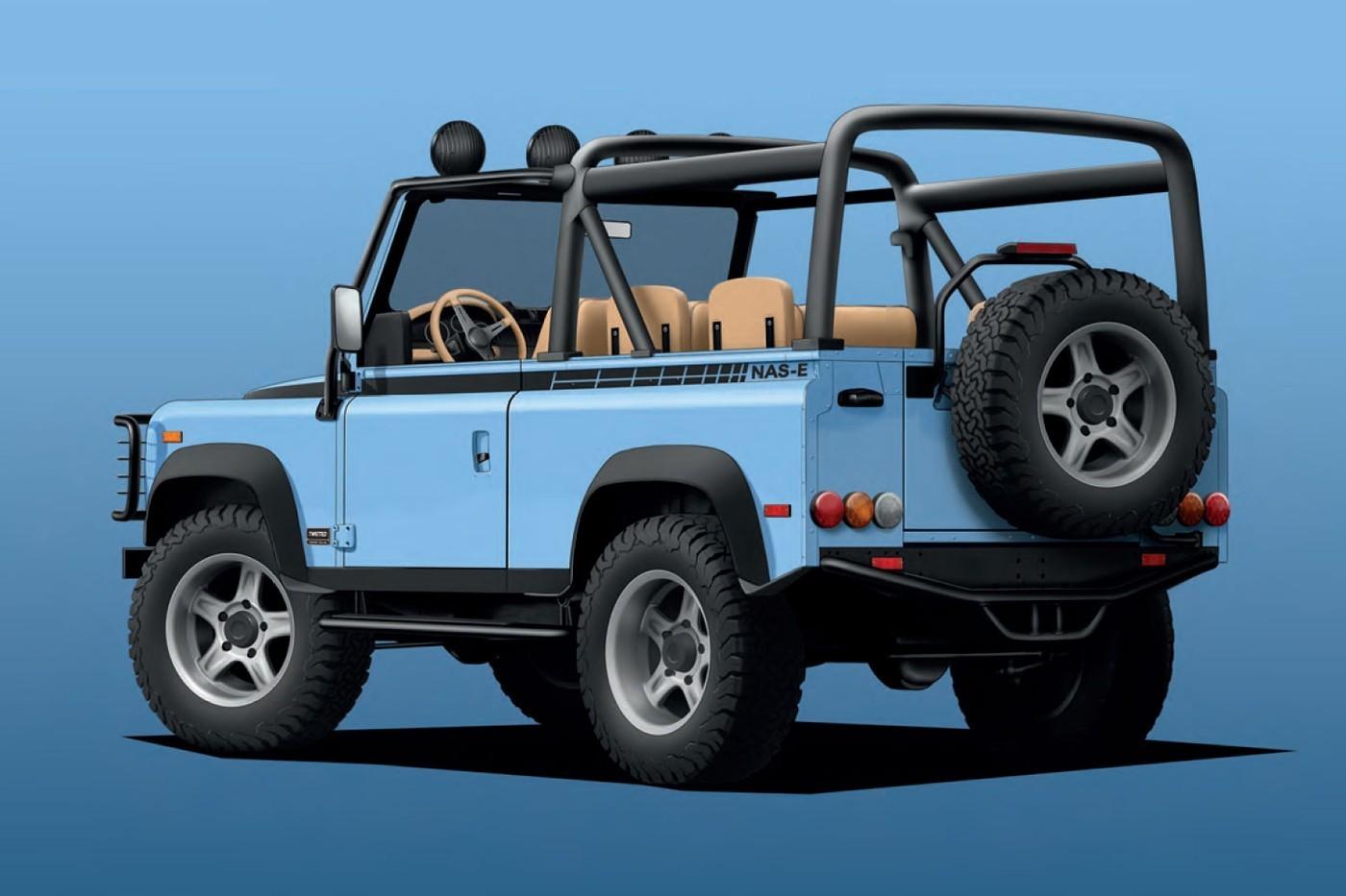 TwistedAutomotive打造全电能化路虎卫士90改装车款