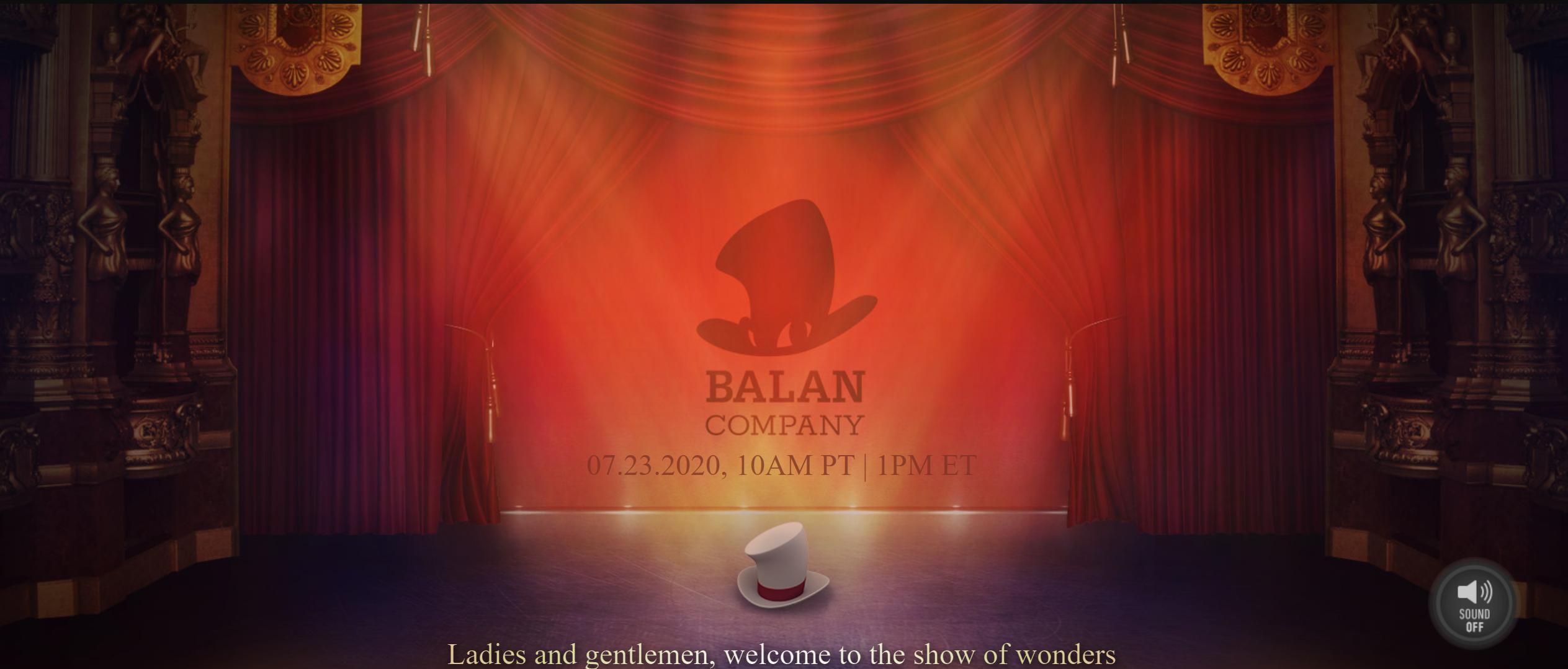 SquareEnix旗下全新游戏工作室BalanCompany将于明日发布第一款游戏