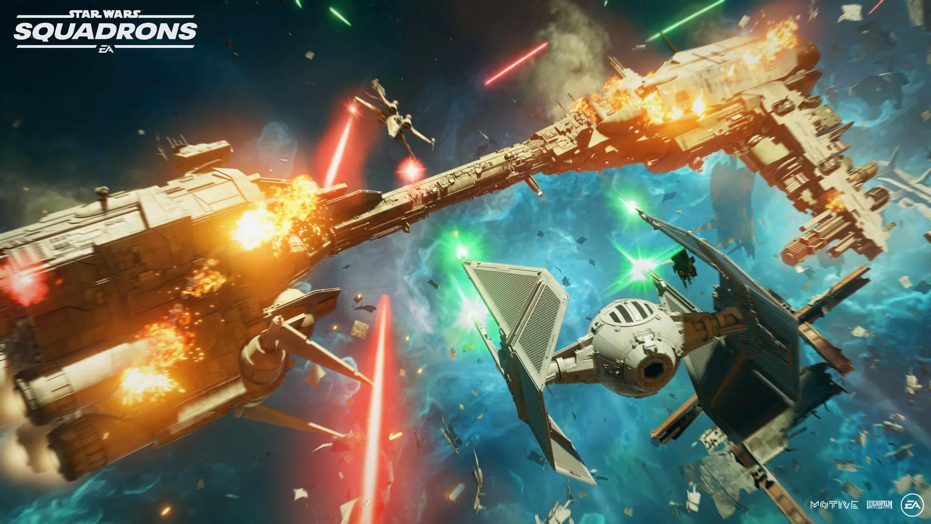 《星球大战:战机中队》困难且刺激的游戏