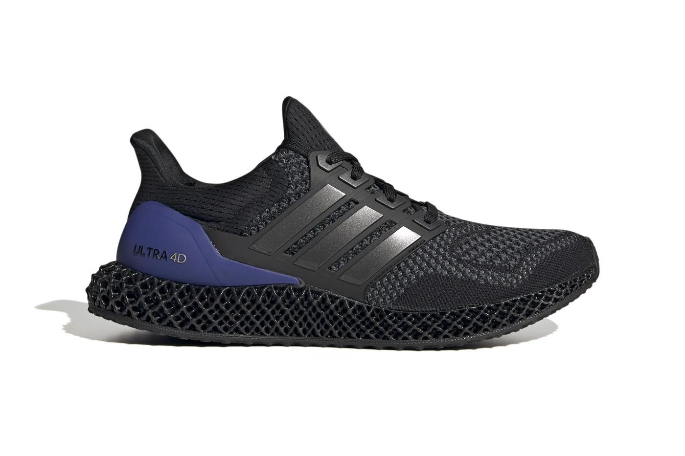 "adidas Ultra4D""黑紫配色""正式发布"