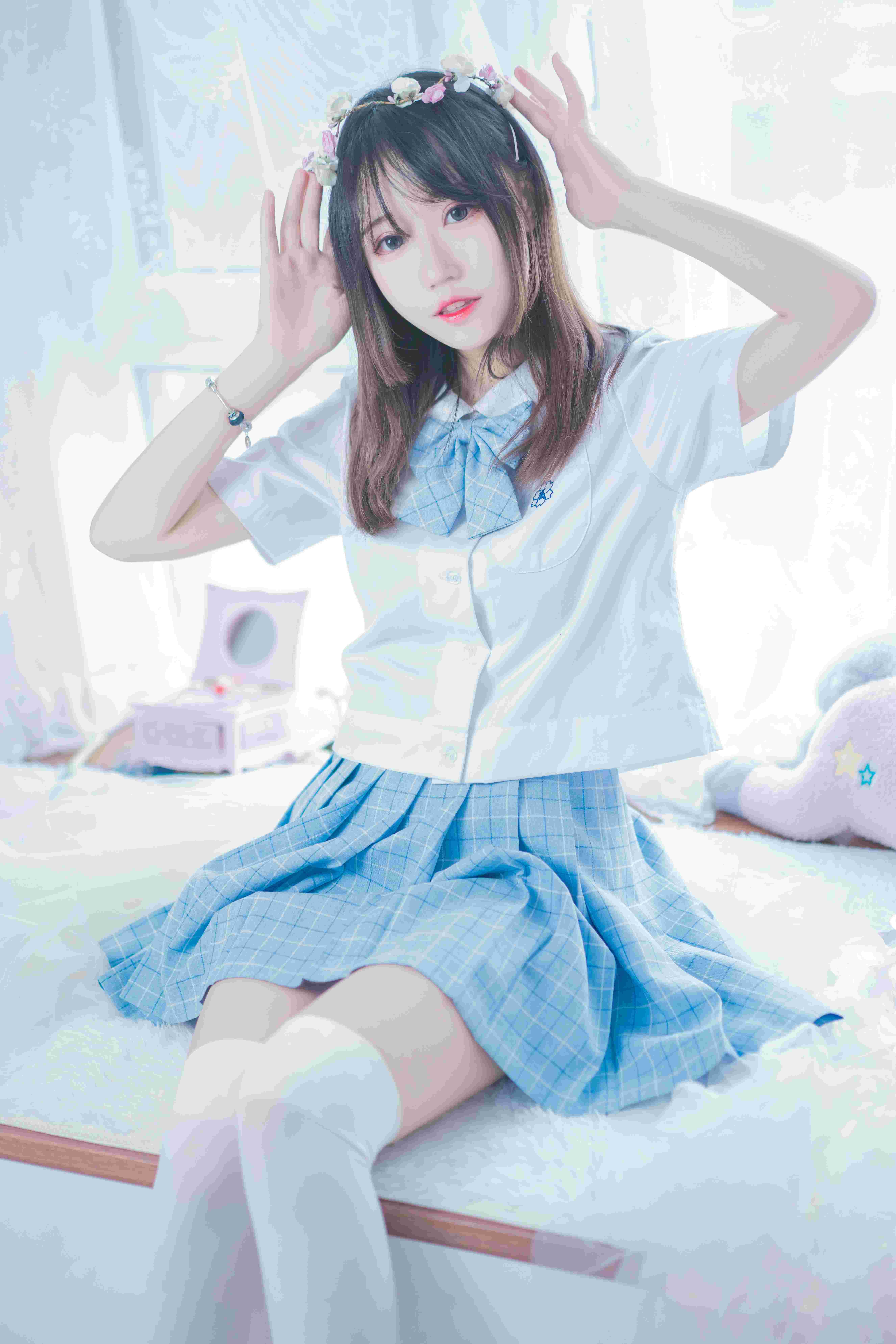 猫君君_MaoJun清凉一夏写真,甜美JK女友