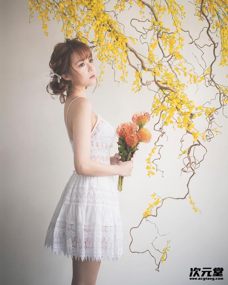 仙女气质女神设计师ins@简帼仪,典雅迷人忍不住想亲近!插图13