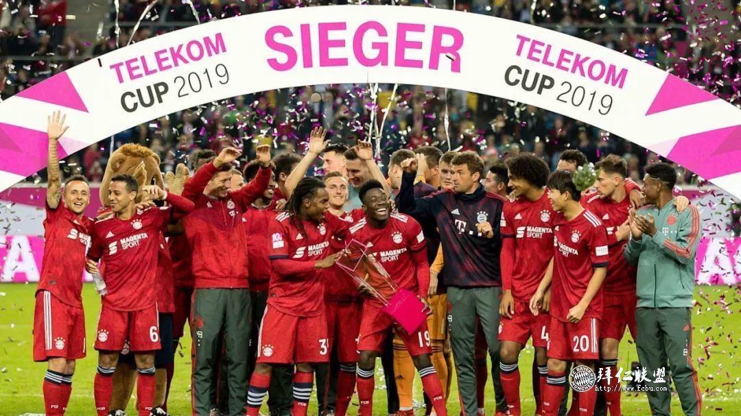 德国电信杯决赛卫冕冠军拜仁点球4:2门兴1