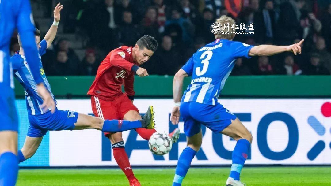 挺进德国杯八强 赫塔2:3拜仁 格纳布里两球 科曼加时制胜13
