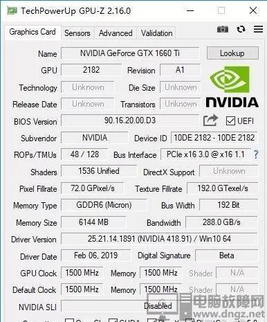 GTX1660Ti GTX1070 GTX1060測評性能實測對比5