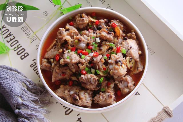 豆豉蒸排骨的做法 豆豉蒸排骨窍门9