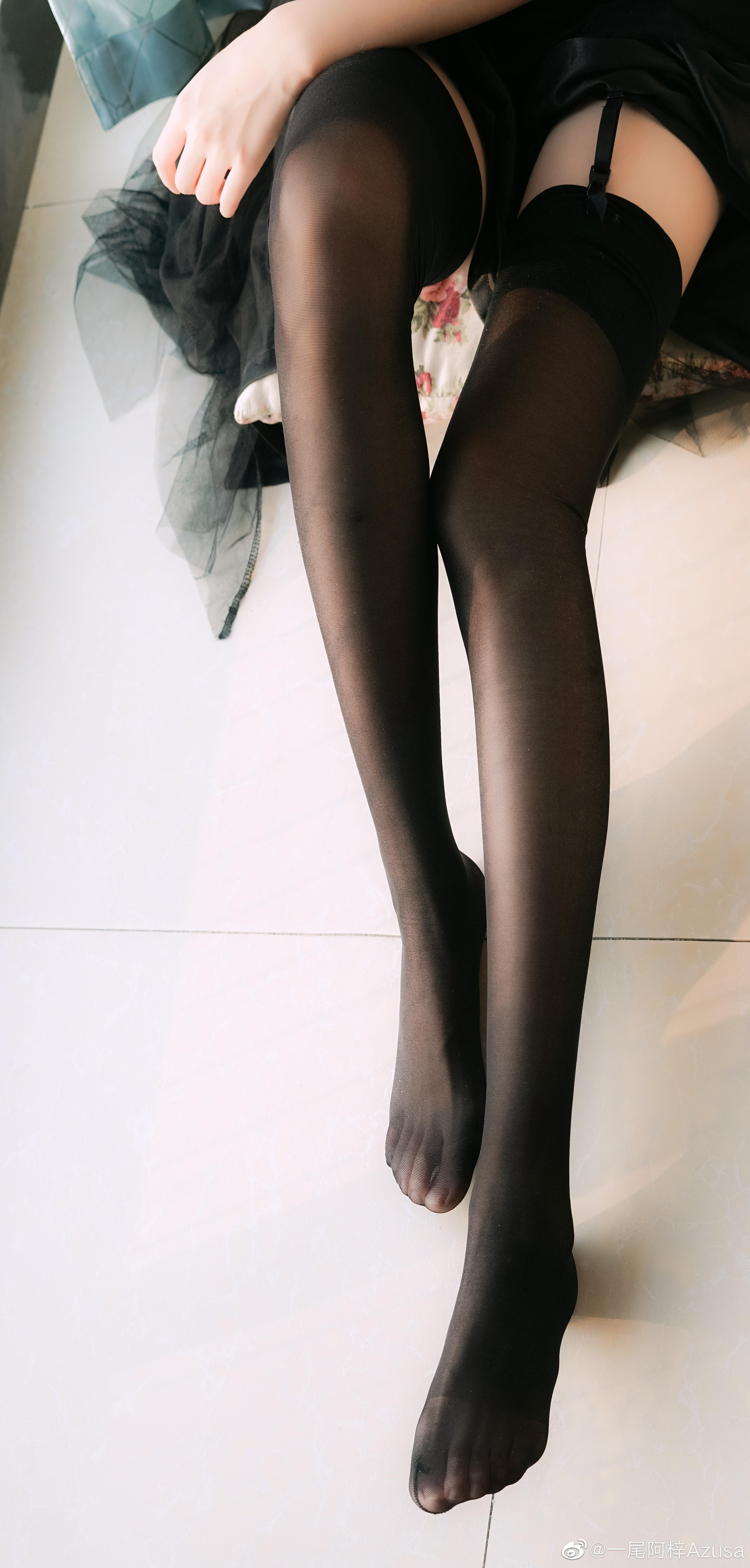 穿丝袜的腿还是有点肉肉好看 绅士领域-第6张