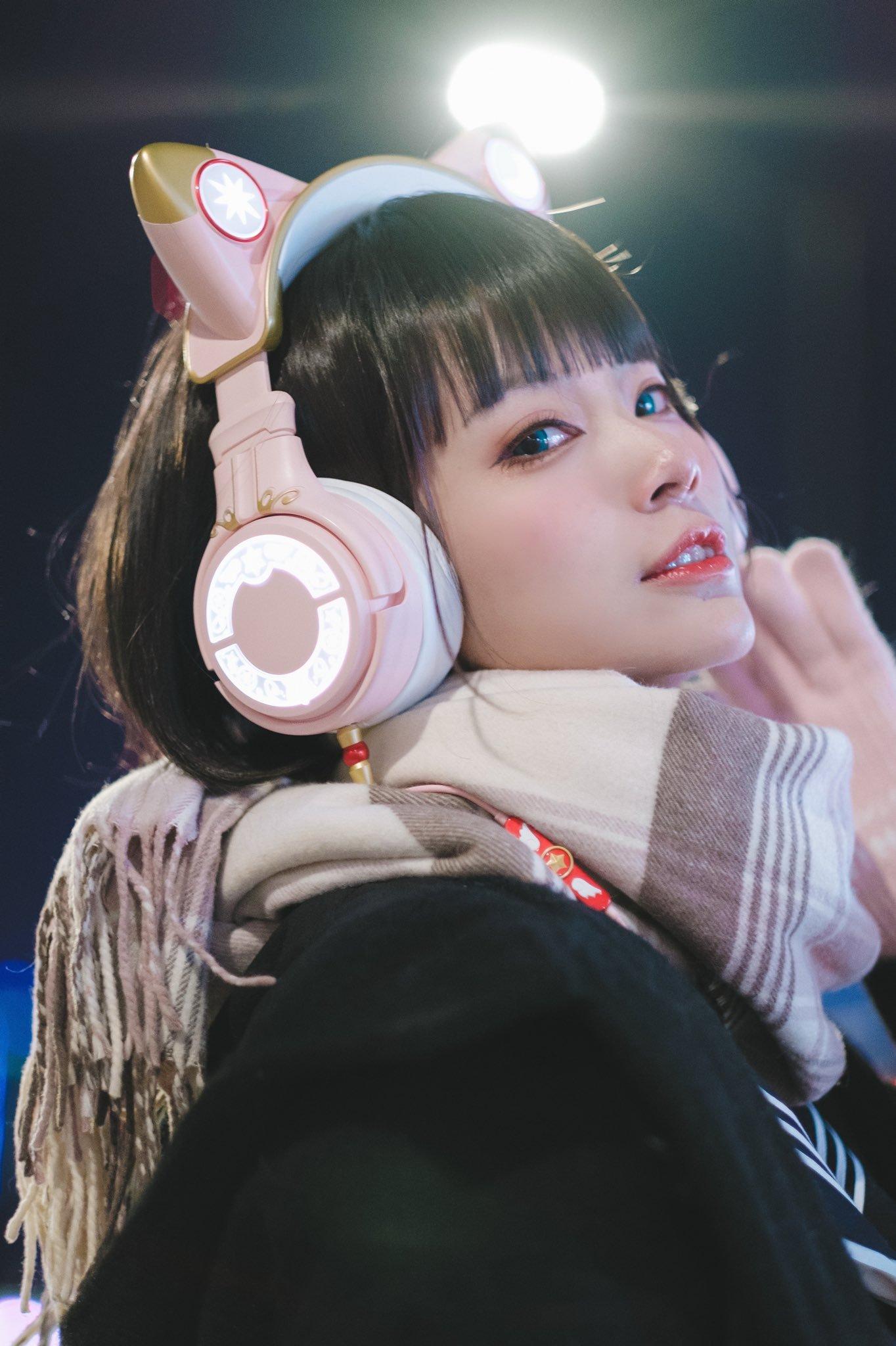 水着金发萝莉 猫耳耳机少女-COS精选二百一十九弹 动漫漫画 第28张