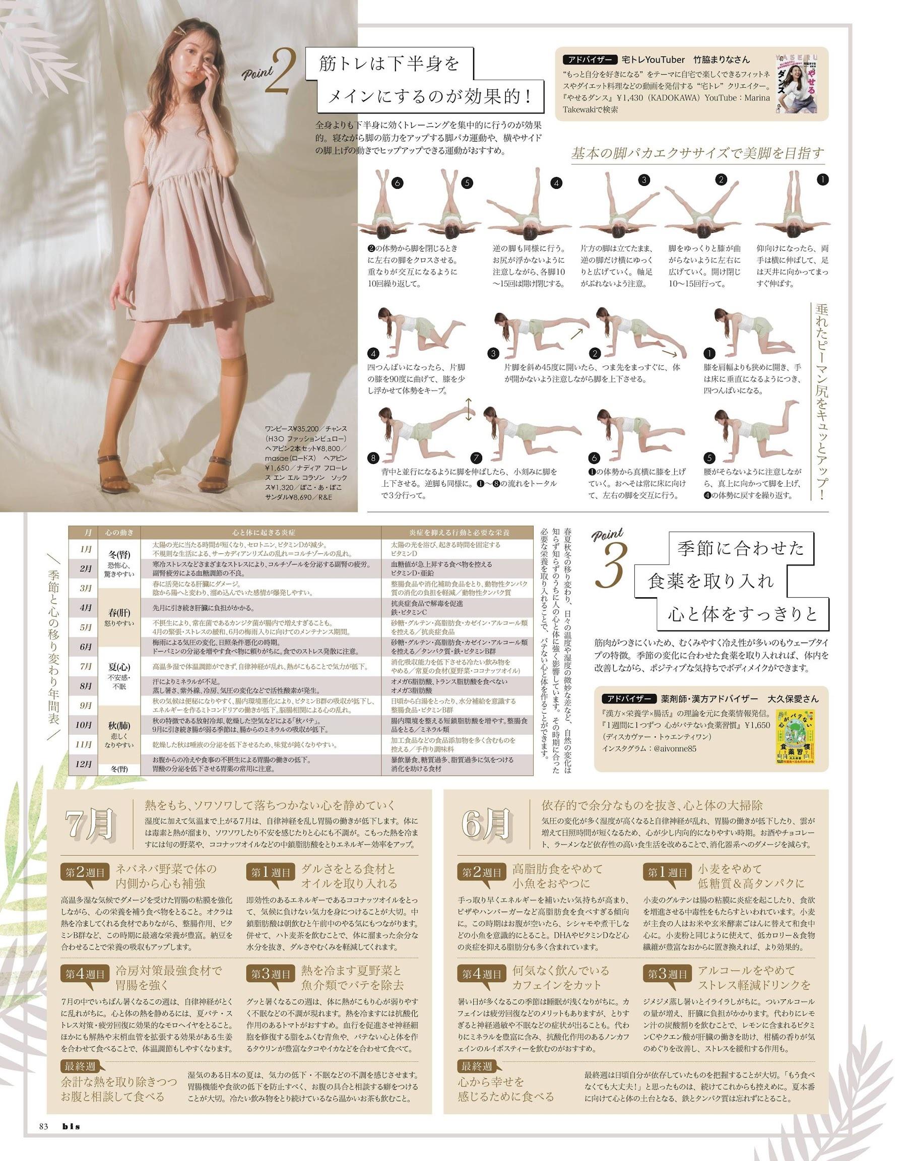 宫脇咲良 与田祐希 道重沙由美-bis 2021年第七期  高清套图 第56张
