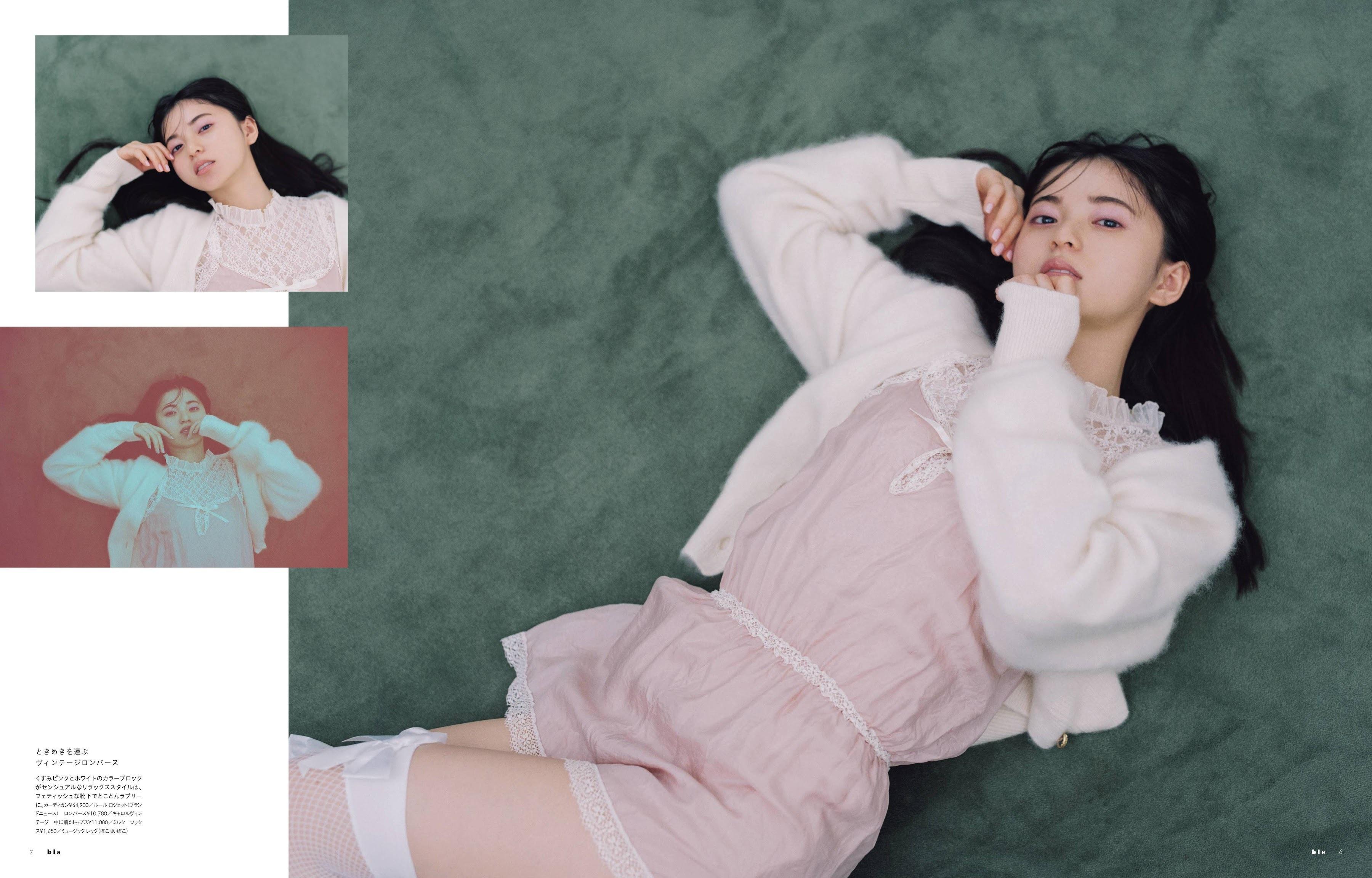 斋藤飞鸟 小宫有纱 与田祐希-Bis 2021年第九期 高清套图 第6张
