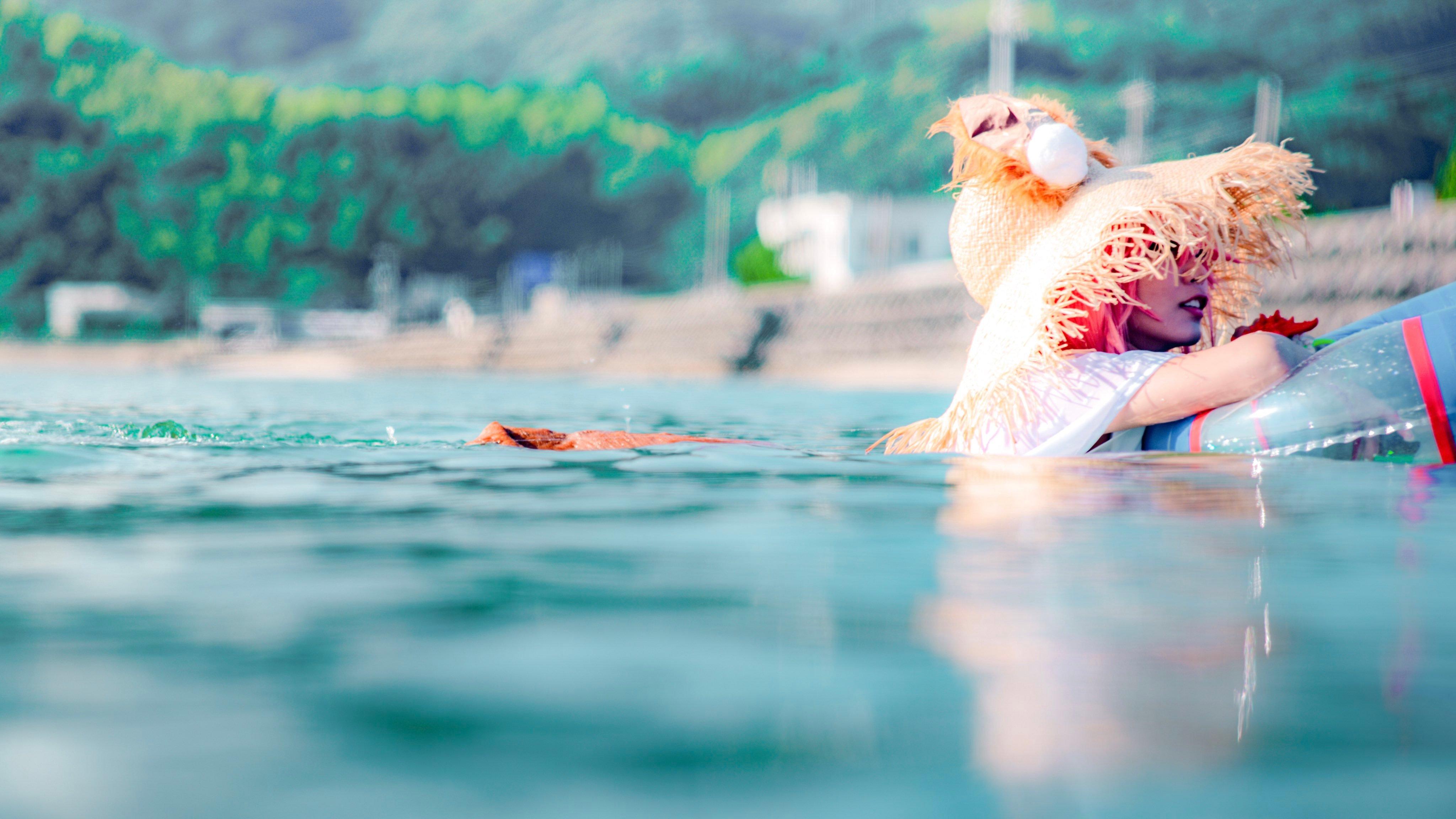 千年狐妖海边水着 JK少女教室白丝-COS精选二百五十四弹 动漫漫画 第22张