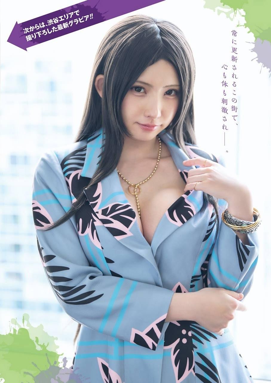 小日向ゆか enako 根本凪 小鳩りあ-《Young Gangan》2021年第十六期 高清套图 第6张