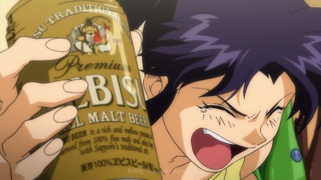 为葛城美里的钱包和肝脏担心!在EVA中葛城美里一年能喝掉多少啤酒?