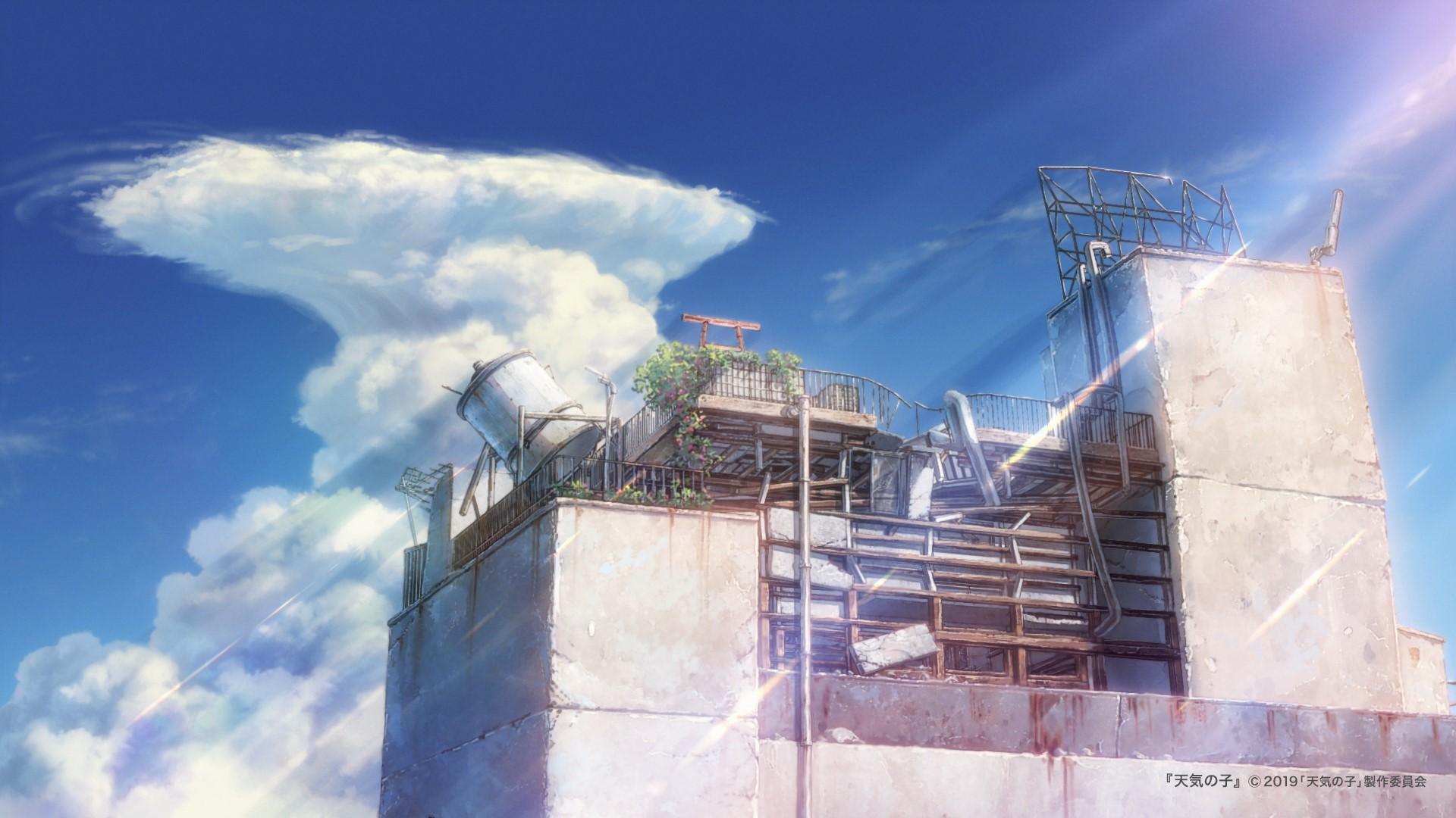 天气之子 在线会议 壁纸 tenkinoko_movie 1262926918271135744_p3