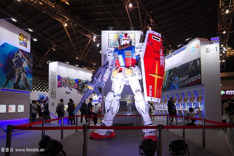 CCG EXPO 2020 万代钢普拉展台_和邪社01
