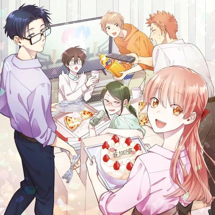 阿宅的恋爱真难 1000万册 销量 OVA