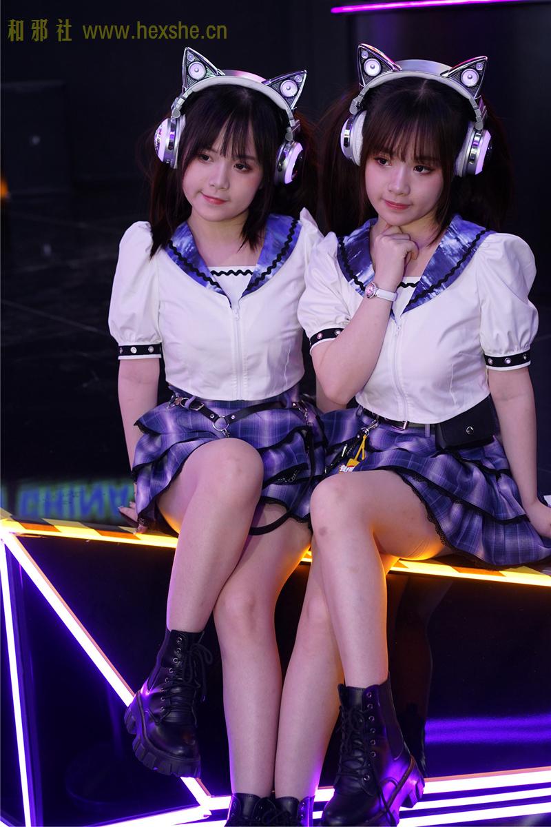 ChinaJoy惟妙惟肖双胞胎_和邪社02