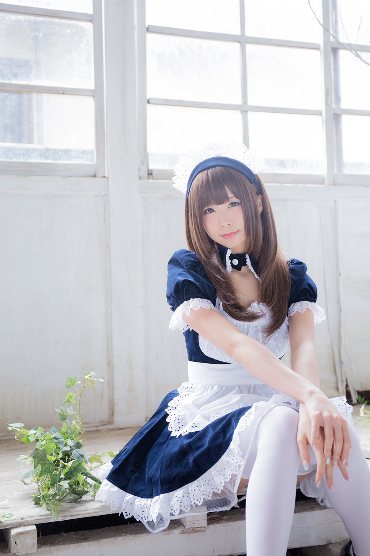 白丝女仆【52p】 少女映画