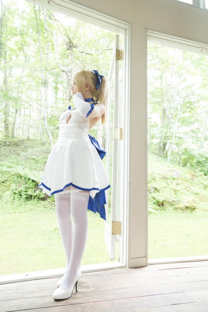 白 saber【75p】 少女映画