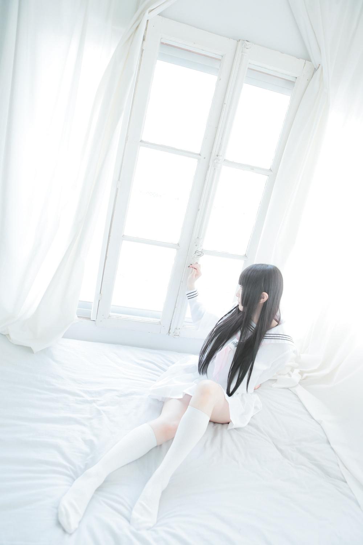 白色水友服【44p】 少女映画