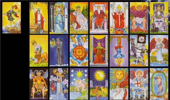 塔罗牌怎么玩:塔罗占卜的原理是什么?第二期