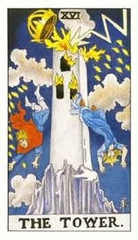 塔罗牌基础教学:78韦特塔罗牌之高塔牌