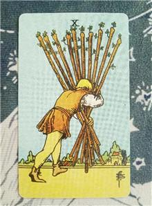 塔罗速解教学:78张韦特塔罗牌之权杖十