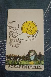 塔罗速解教学:78张韦特塔罗牌之星币Ace