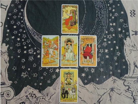 塔罗占卜案例:【进阶向初尝试】未来两人的感情发展