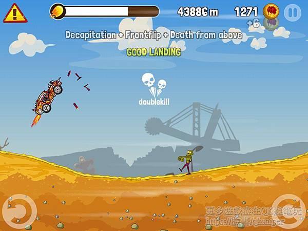 游戏《Zombie Road Trip》让你闲暇之时可以轻松小品僵尸赛车 (3)