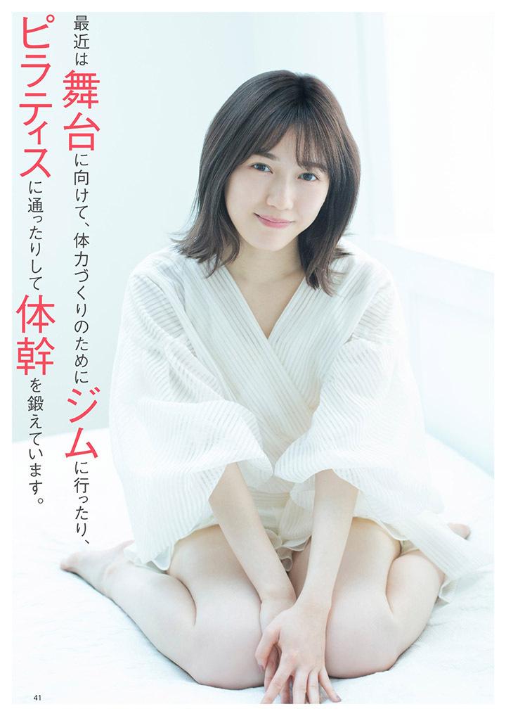 正统派偶像渡边麻友为音乐剧公演而拍摄写真作品大力宣传拉升人气 (8)