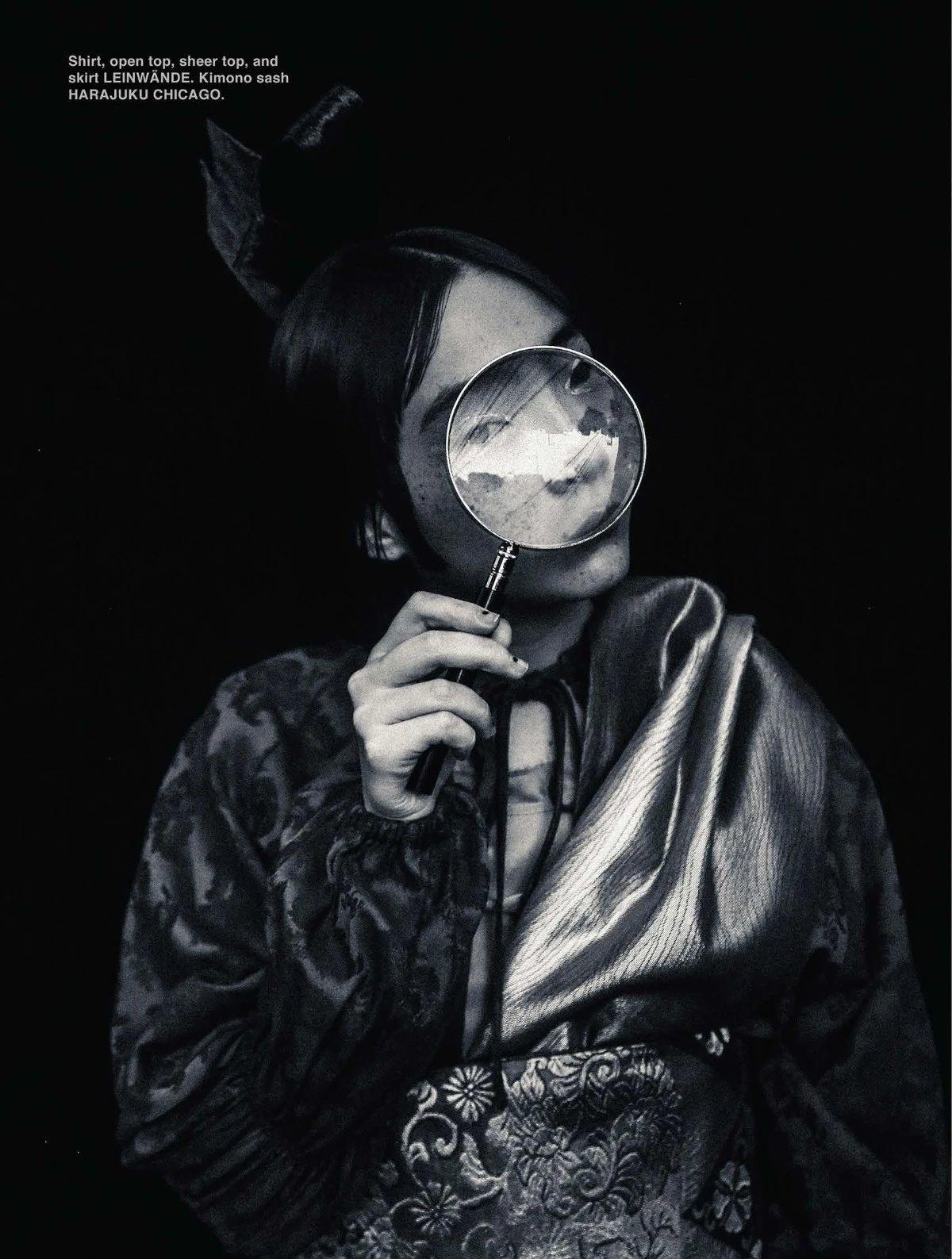 满脸雀斑却依旧很美的混血模特世理奈写真作品 (30)
