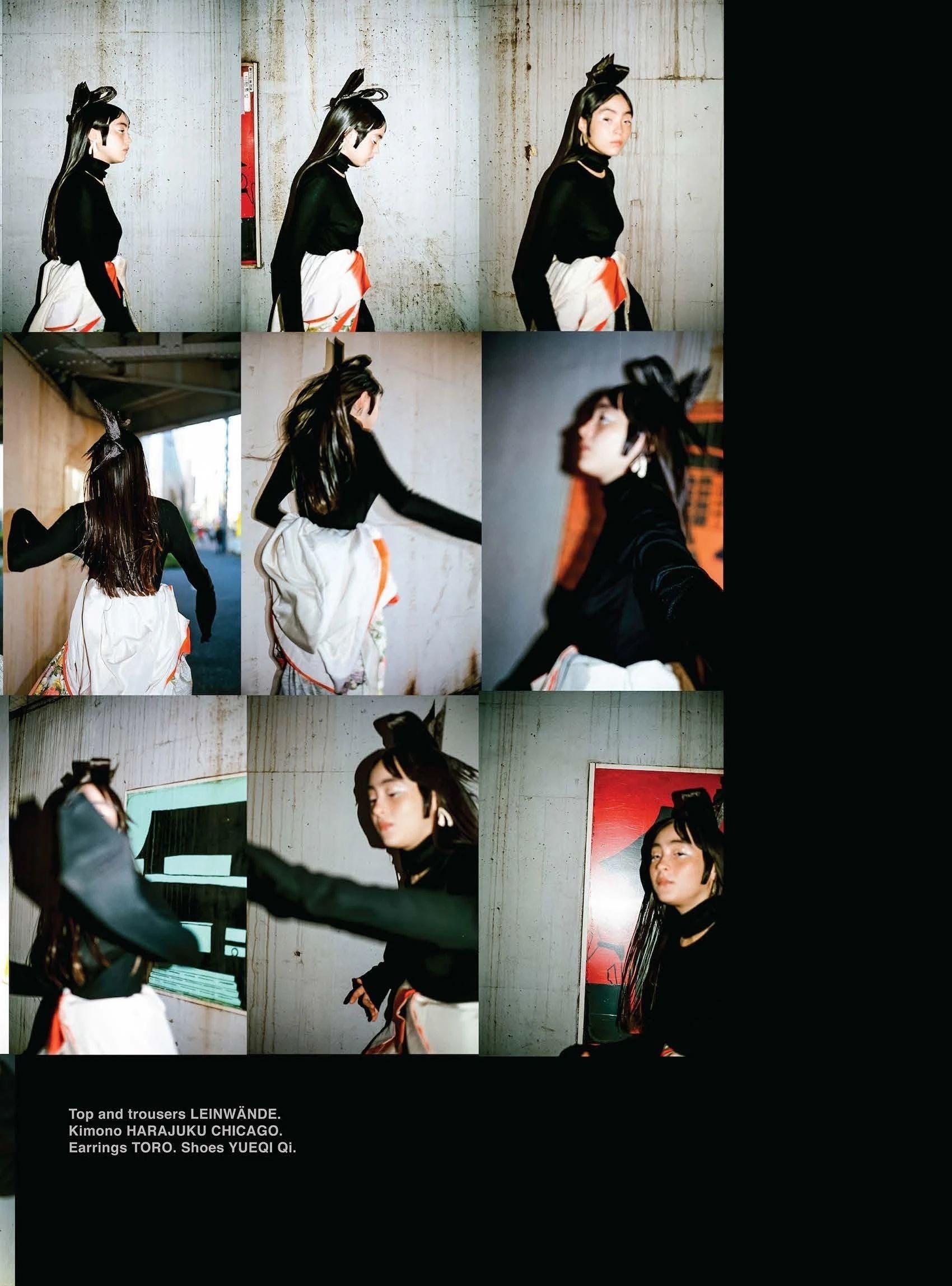 满脸雀斑却依旧很美的混血模特世理奈写真作品 (37)