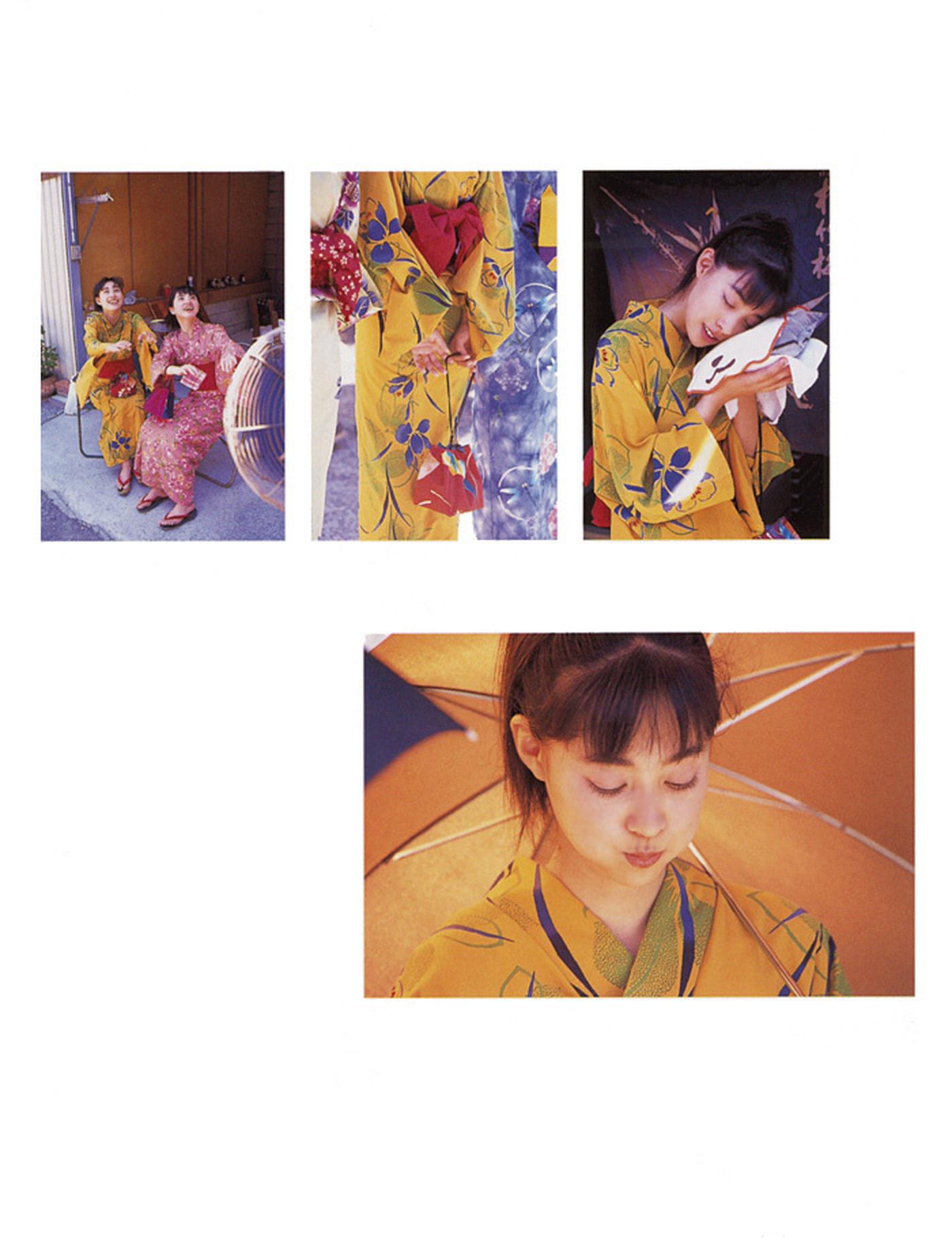 被锁在保险柜里的日本艺人吹石一惠的写真作品 (40)