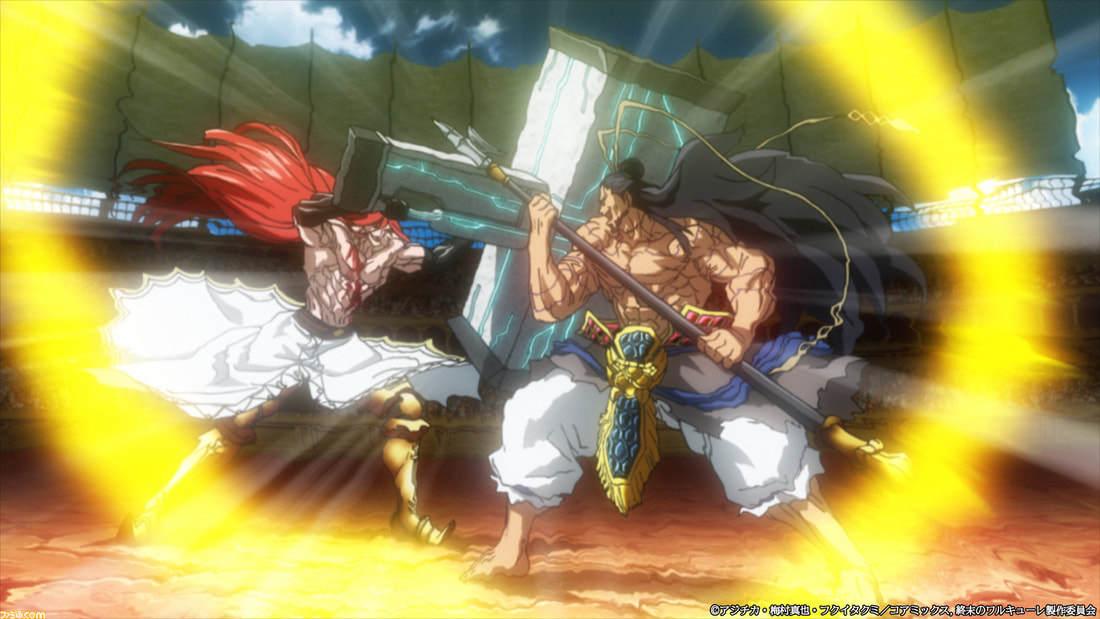 漫画《终末的女武神》人神大战可以好好享受的热血格斗盛宴 (8)
